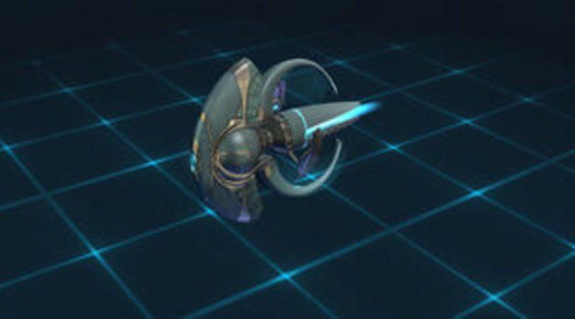 Le vaisseau Star Trek Fleet Command Jellyfish