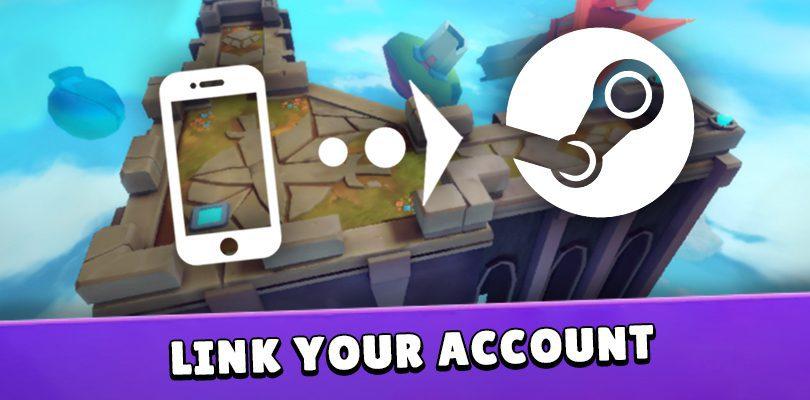 Verknüpfen Sie Ihr Konto Smash Legends mit Steam
