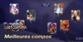 Meilleures compos Lost Centuria