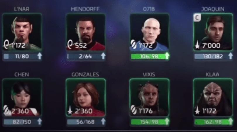 Idées de commandant dans Star Trek Fleet Command