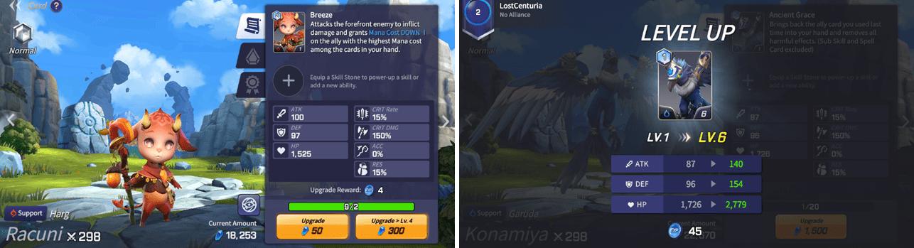 Mise à jour Lost Centuria 1.1.0 - montée du niveau des monstres