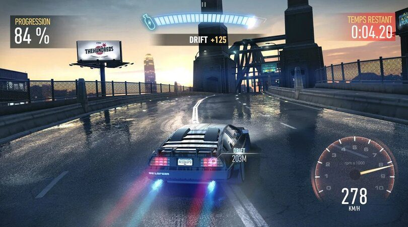 Need for Speed Mobile - Meilleur jeu de voiture Android
