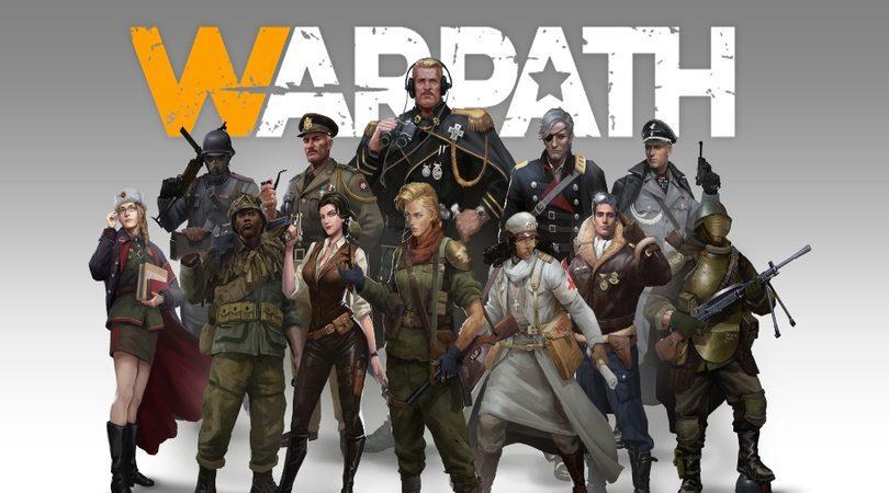 Les officiers dans Warpath