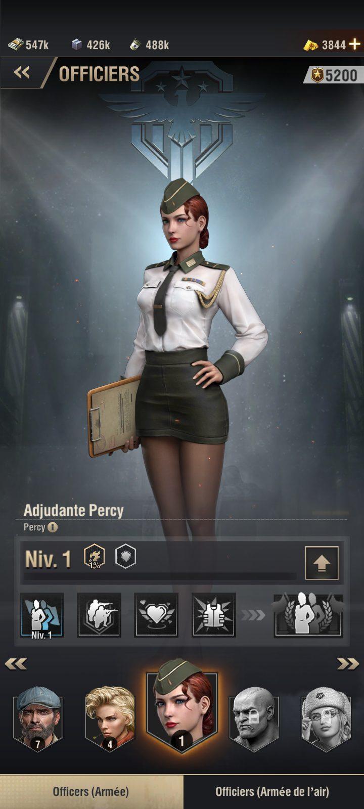 Guide Warpath - officiers