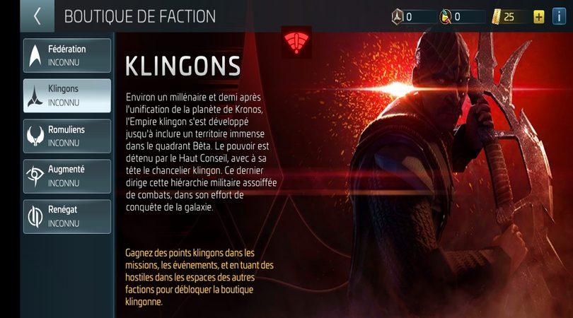 La Faction des Klingons