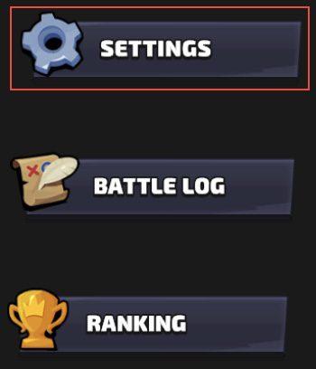 Paramètres Smash Legends