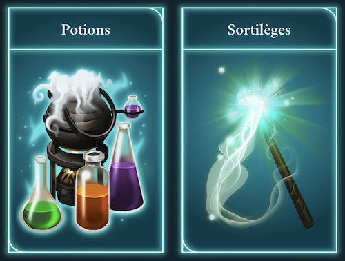 Sortilèges et potions