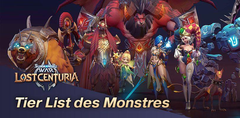 Tier List Lost Centuria | Les meilleurs monstres