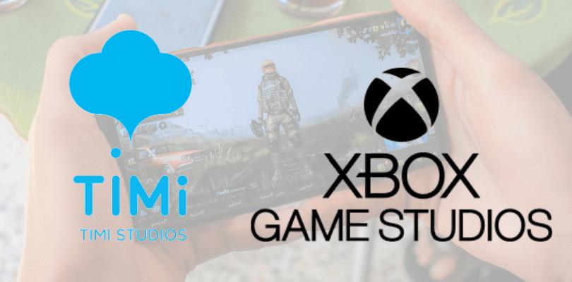 Partenariat entre XBOX et TiMi de Tencent
