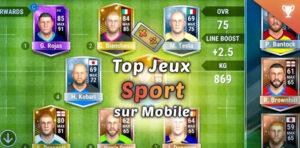 Meilleurs jeux de sport mobile - Android iOS