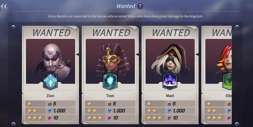 Rewards Search mode Lost Centuria