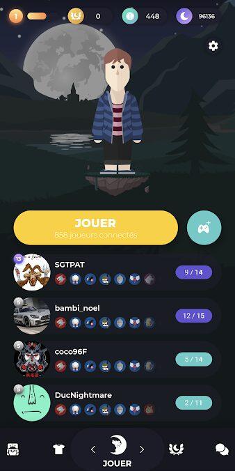 Visuels Wolfy jeu mobile