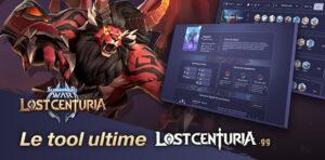 Lost Centuria outil création compo