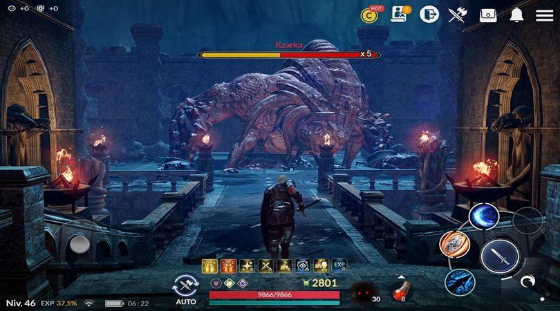 Jeux comme Genshin Impact - Black Desert Mobile