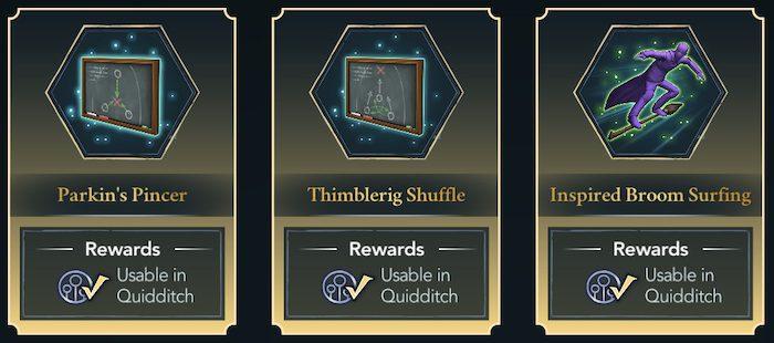 Quidditch compétences
