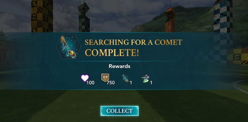 Event Quidditch chapitre 9 - Searching for a Comet