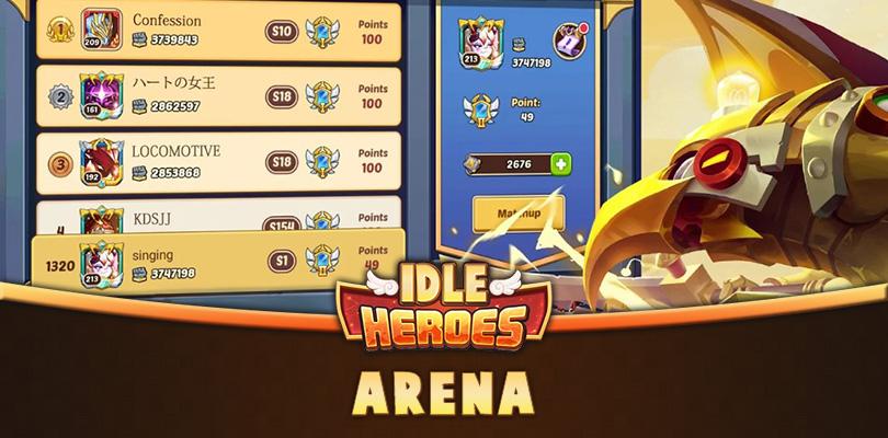 Idle Heroes Arena