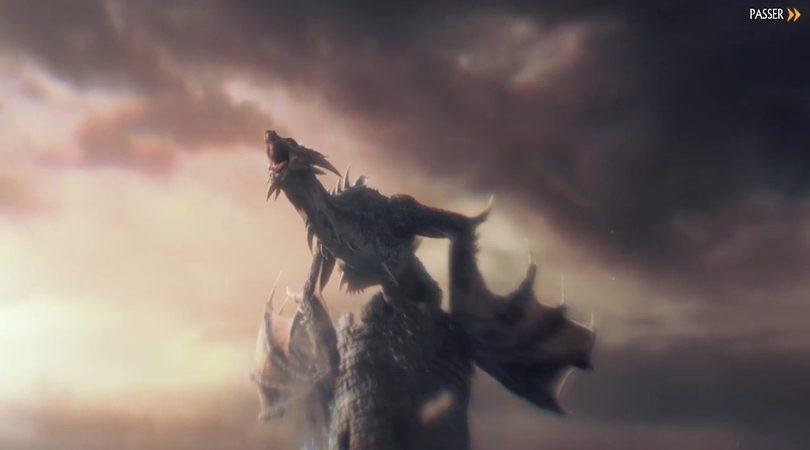 Le premier dragon dans une des cinématiques de KoA