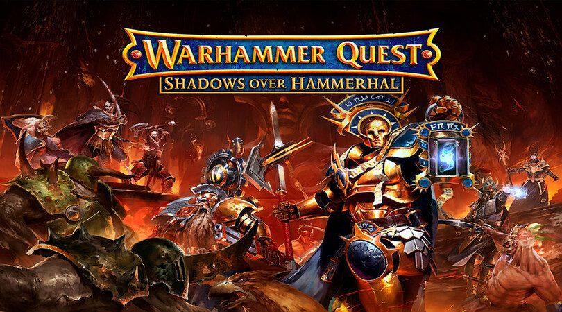 MAJ Warhammer Quest: Silver Tower Shadows Over Hammerhal