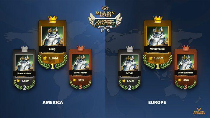Podium Legendary Contest - Million Lords