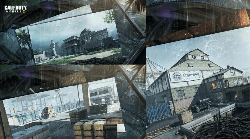 Aperçu des nouvelles maps dans la saison 5 CoD Mobile