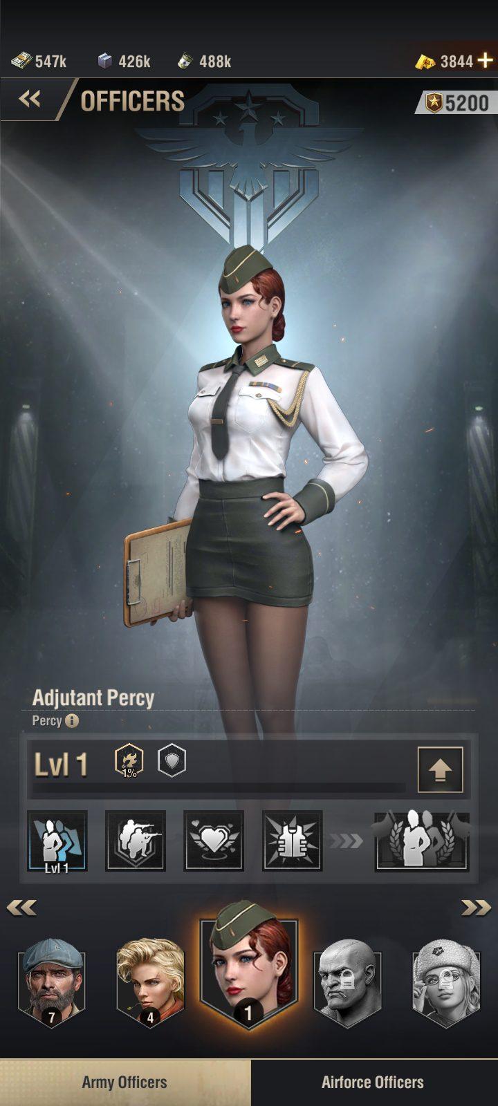Warpath Guide - officers