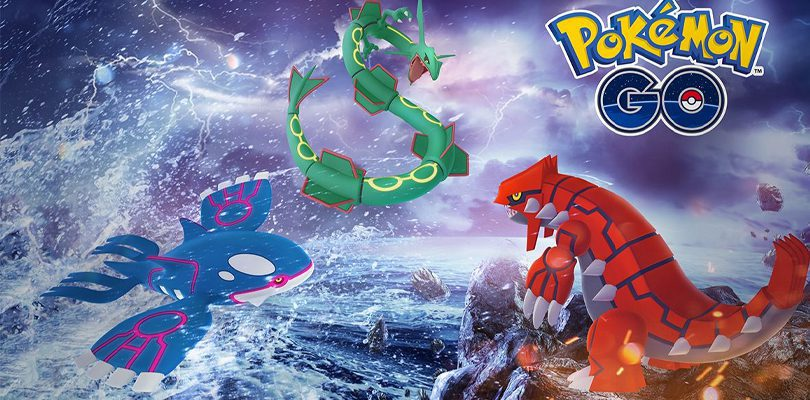 Pokemon Go Fest 2021 Kyogre, Groudon, Rayquaza