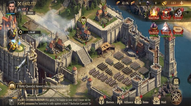 Das Trainingsgelände für die Truppe - guide  King of Avalon