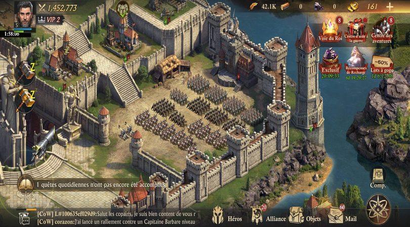 Le terrain d'entraînement des troupes - guide King of Avalon