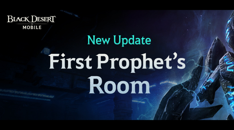The First Prophets Room BDO Mobile