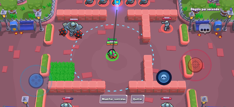 Image de gameplay du brawler Buzz