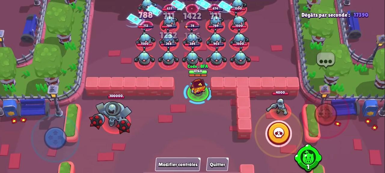 Image de gameplay du brawler Griff