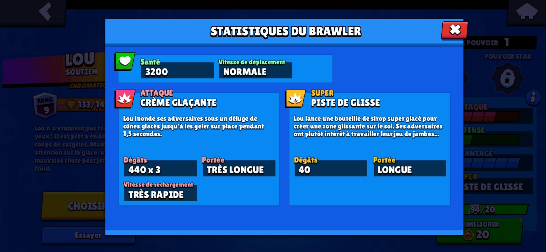 Guide Lou Brawl Stars - Attaque et Super