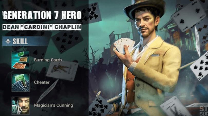 Cardini nouveau héros dans State of Survival