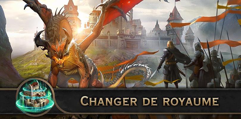 Changer de royaume dans King of Avalon