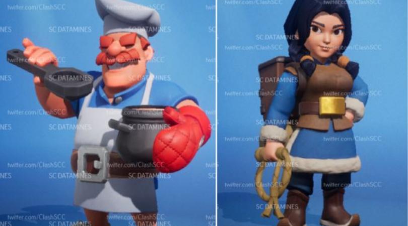 Clash Heroes Cuisiner et Aventurière