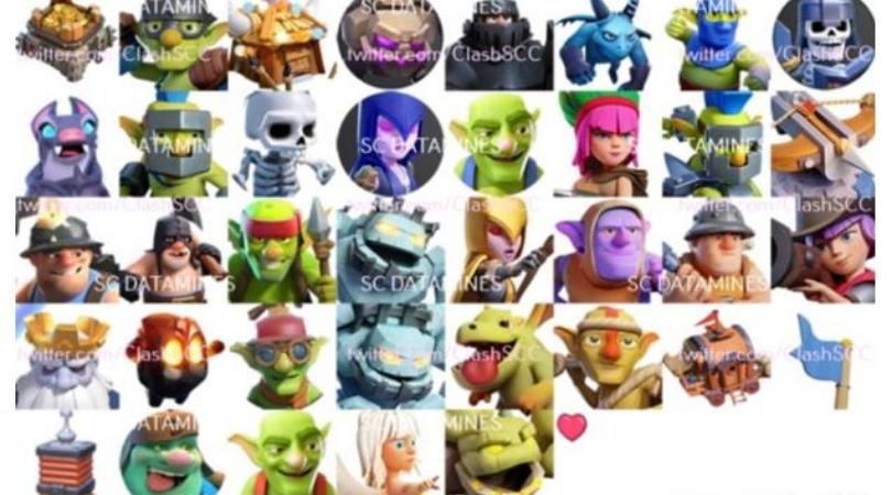 Tous les ennemis Clash Heroes