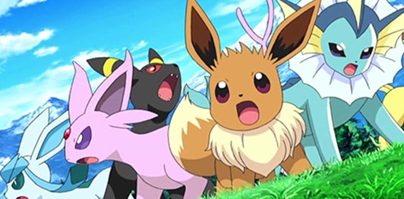 Evoli et ses évolutions dans Pokémon.