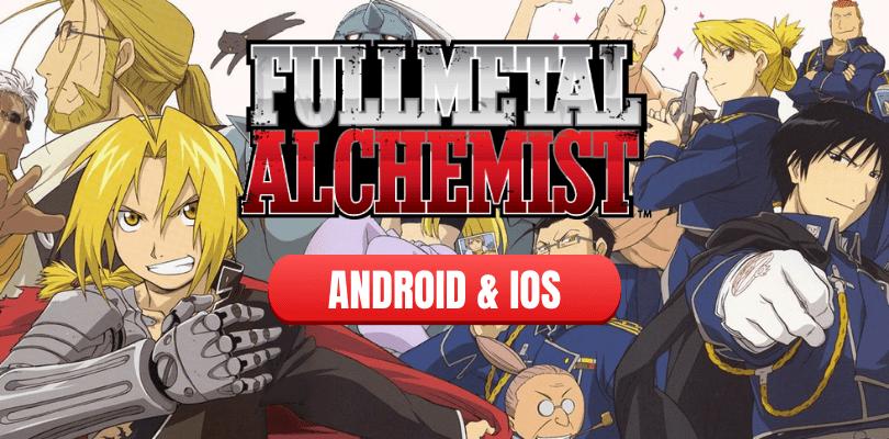 Full Metal Alchemist annoncé en jeu mobile