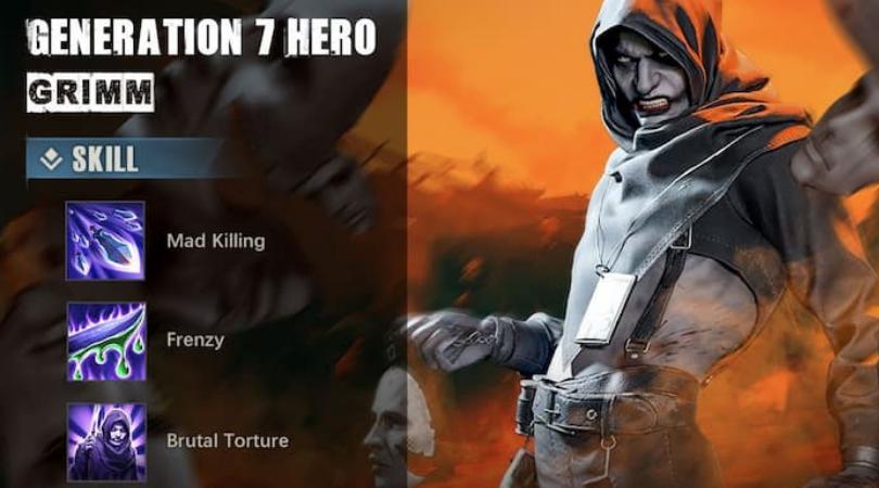 Grimm nouveau héros dans State of Survival
