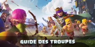 Guide des troupes Clash of Clans
