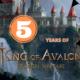 5 ans King of Avalon événements