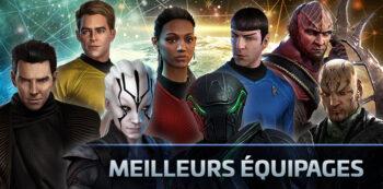 Meilleures compositions d'équipage Star Trek Fleet Command