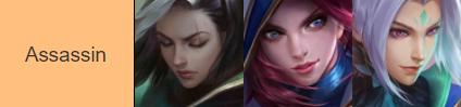 Les meilleurs héros assassins sur Mobile Legends