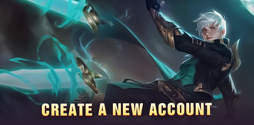Create a New Mobile Legends account
