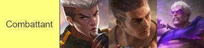 Les meilleurs personnages combattants