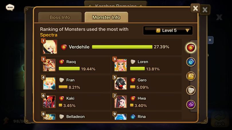 Monster-Info Zweites Erwachen Greifen