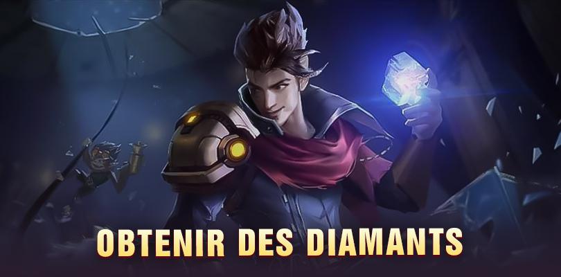 Obtenir des diamants Mobile Legends