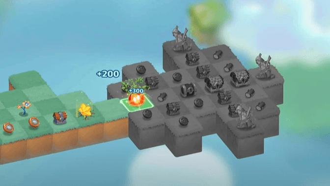 Orbe orange Merge Magic Challenge 12
