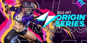 esport Wild Rift origin series